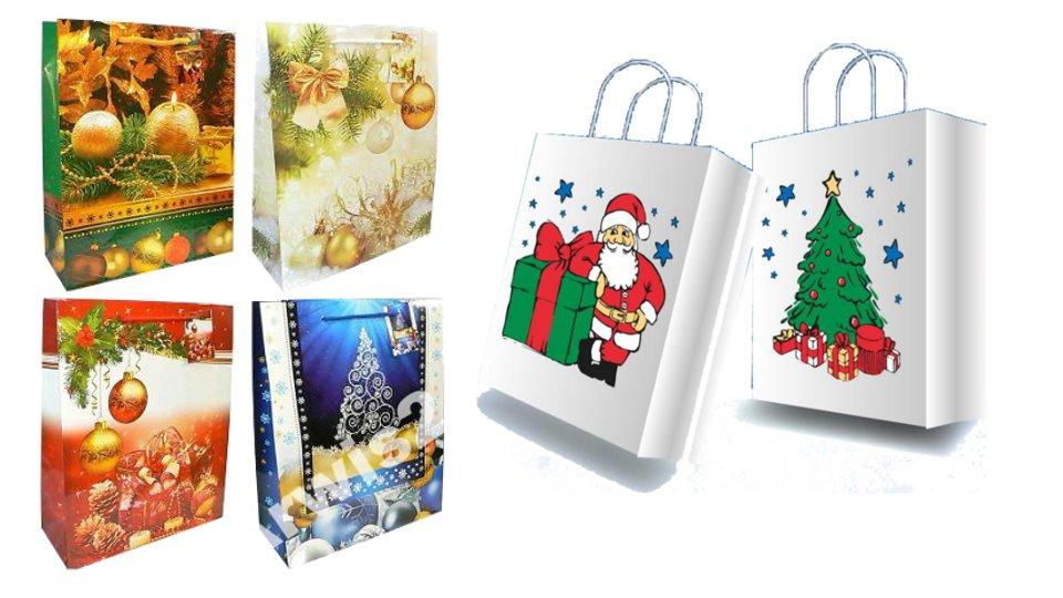 świąteczne torebki