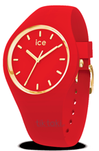 Zegarek ICE Glam Colour 016263 - RED- Small 015331 29bfb12e41
