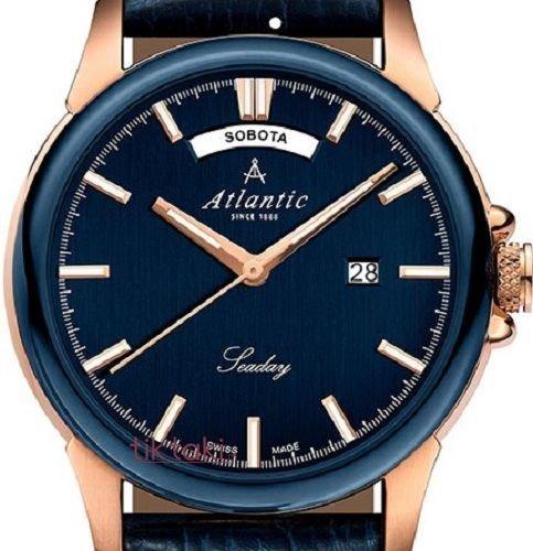 12c13f556d79 Zegarek Atlantic Seaday 69550.44.51RP