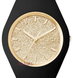 Zegarek ICE Glitter- Black - Gold - Small 001348,  223865